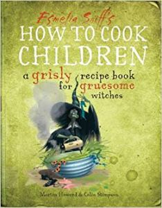 Funny book, how to cook children esmelia sniff.