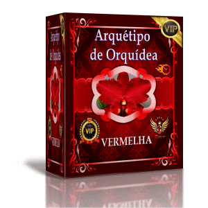 SUPER ARQUÉTIPO DE ORQUÍDEA – VERMELHA