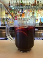 sangria red pitcher