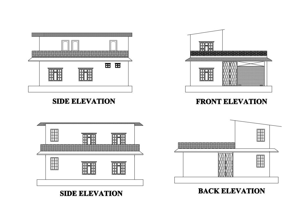 Approved design for the RMF clinic building