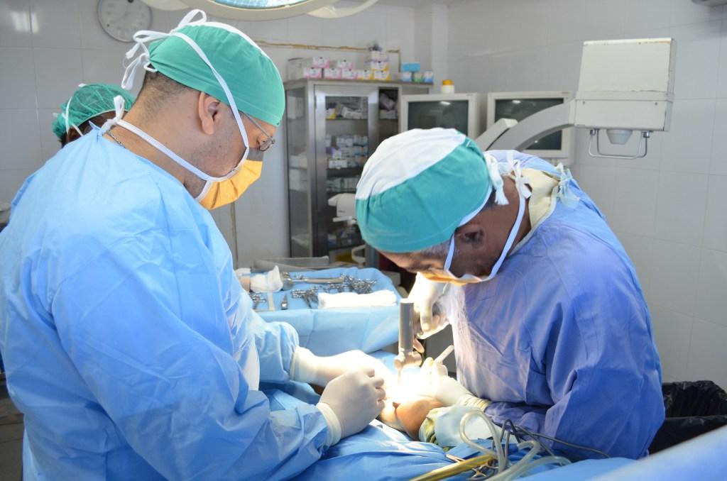 Haiti surgeons haitian