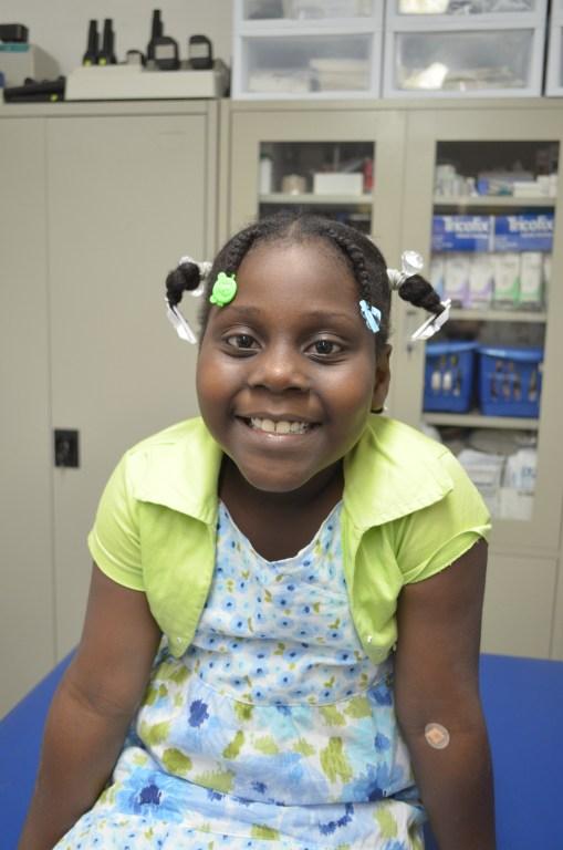 josefina blount's disease surgery haiti