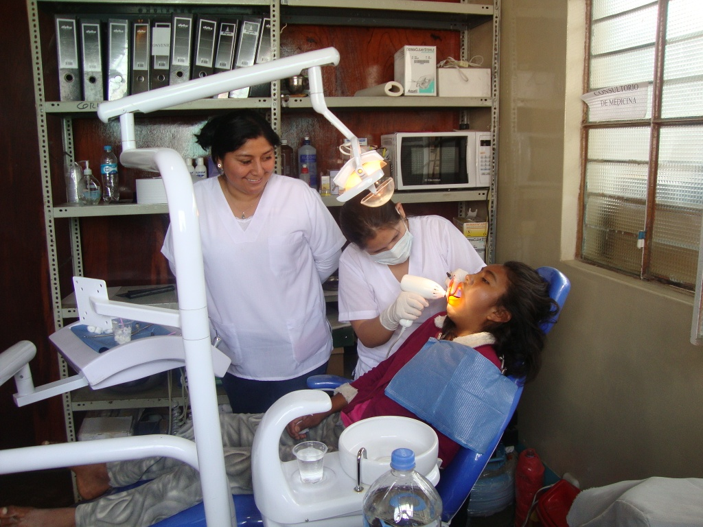 Dental campaign RMF Peru