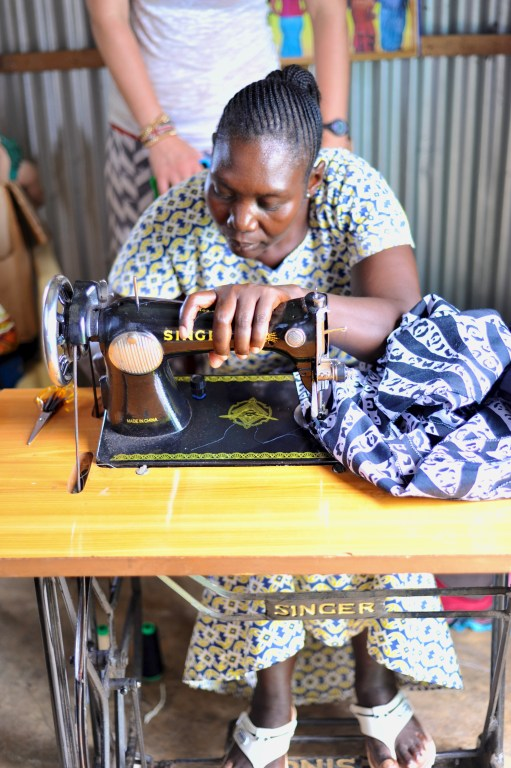 women sewing lwala kenya