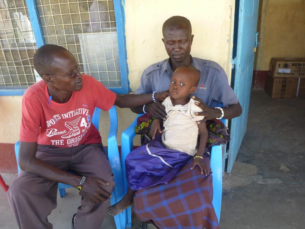 a sick child who needs advanced care