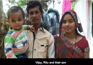 Vijay, Ritu and their son