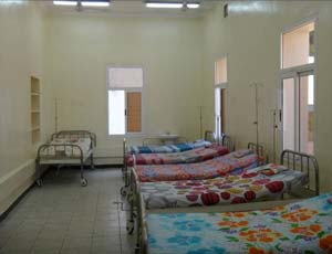 UNICEF donated beds