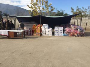 RMF supplies provided to victims