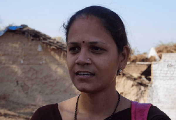 young indian woman speaking