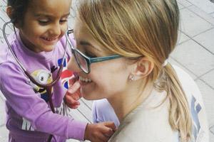 Sofija Manjak, RMF's Medical Field Coordinator, educating a new generation of doctors