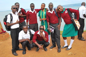 group student picture in uganda