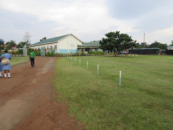 school yard in uganda