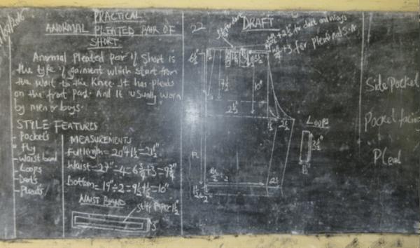 blackboard in uganda school