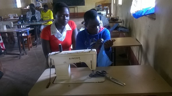 tailoring students in uganda