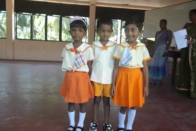 Our Three Entrants from Palathuduwa Preschool