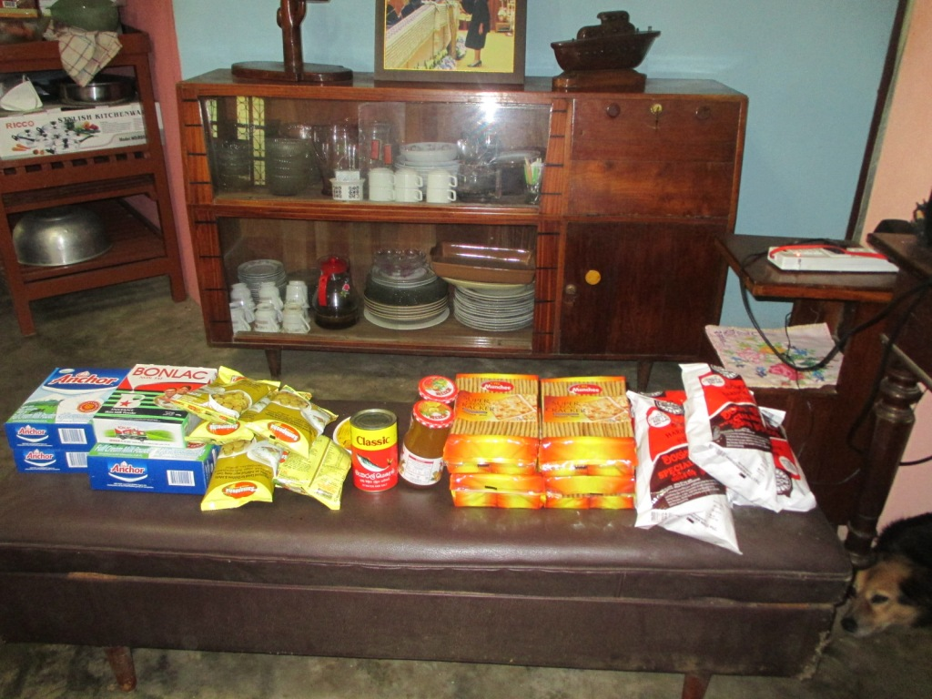 Food for beneficiaries