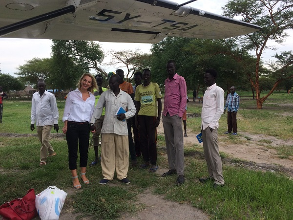 south sudan aid with martina fuchs