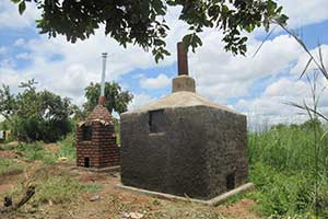 During the reporting period, an incinerator and placenta pit were constructed at Bidibidi Reception Health Centre III