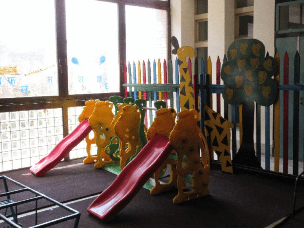 A playroom maintained by SAV on the hospital's premises for patients and their siblings.