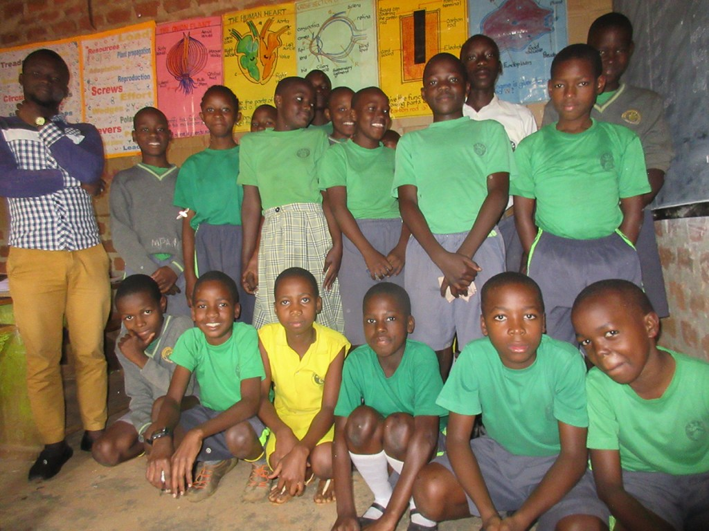 2018 primary seven class at the Precious Children's Centre