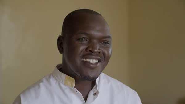 Lwala Clinical Officer Tom Magolo was interviewed about the benefits of the NASG.