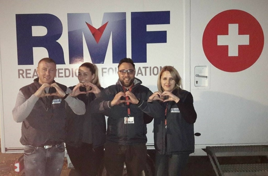 RMF team members working over the Christmas and New Year holidays, sending peace and love for 2018