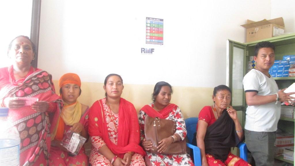 AS Nepal KCOP Q2 2019 At RMF health center