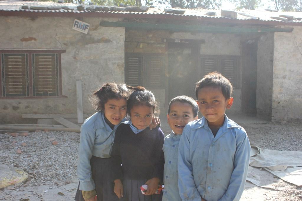 AS Nepal MV Q4 2018 Children_of_Nearby_School_of_RMF_Clinic_Gorkha