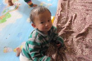 Infant child at NCO