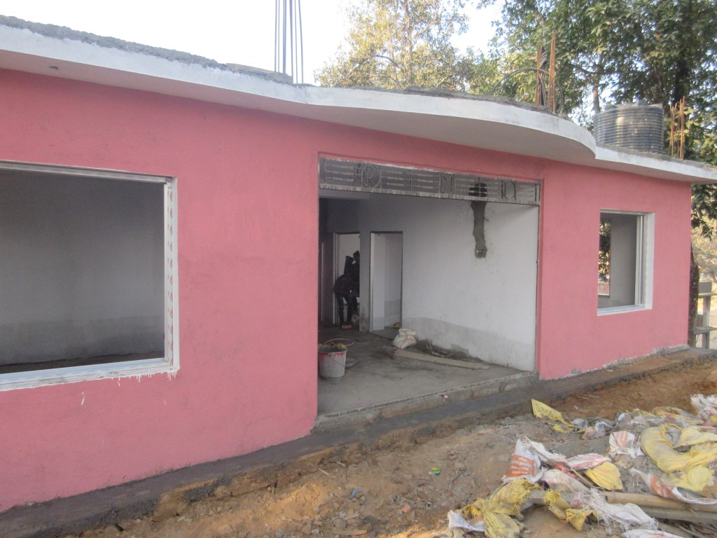 AS Nepal MV Q4 2018 RMF_Clinic_Building_under_Construction