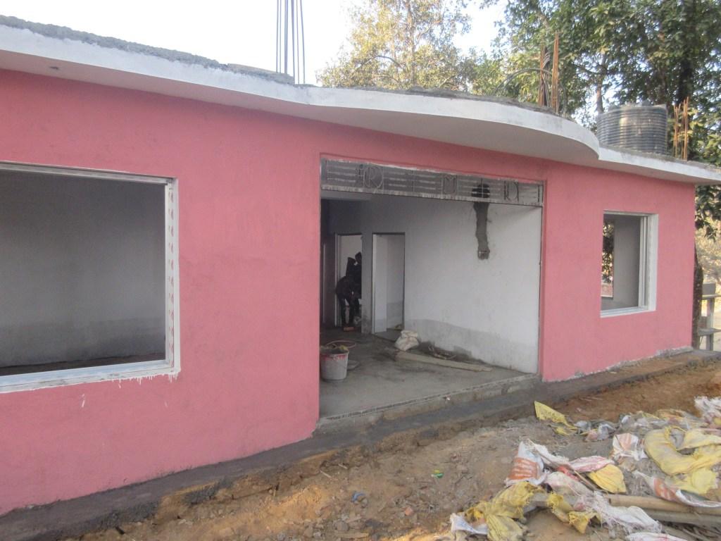 AS Nepal MV Q4 2018 RMF_Clinic_Building_under_Construction