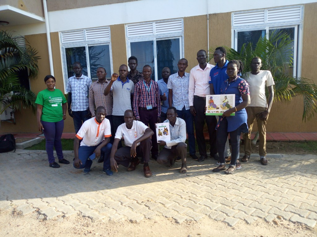 AF South Sudan MTP Q3 2019 RMF participated at States level MIYCN training of trainers workshop