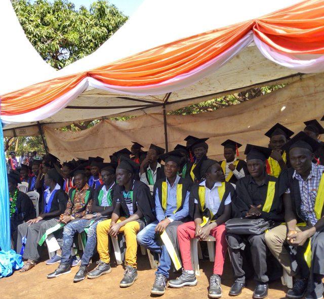 graduation ceremony for PVTI
