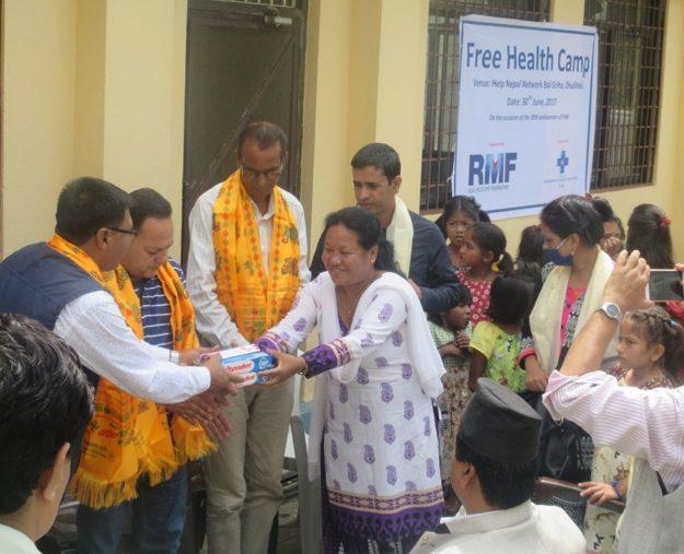 AS Nepal KCOP Q2 2017 Toothpaste Handover