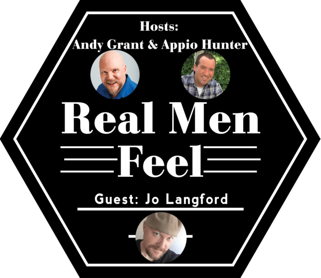 Real Men Feel - Jo Langford