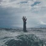 drowning man
