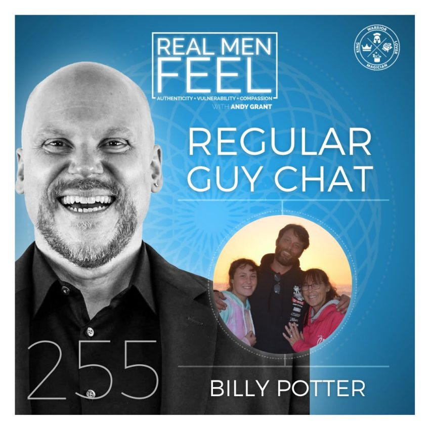 Real Men Feel: Regular Guy Chat with Billy