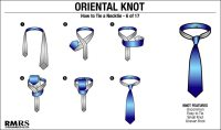 How To Tie The Oriental Knot | Simple Knot
