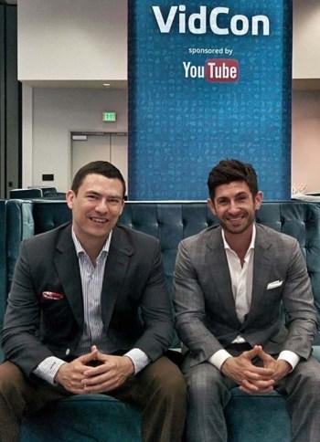 Antonio & Aaron At VidCon 2014