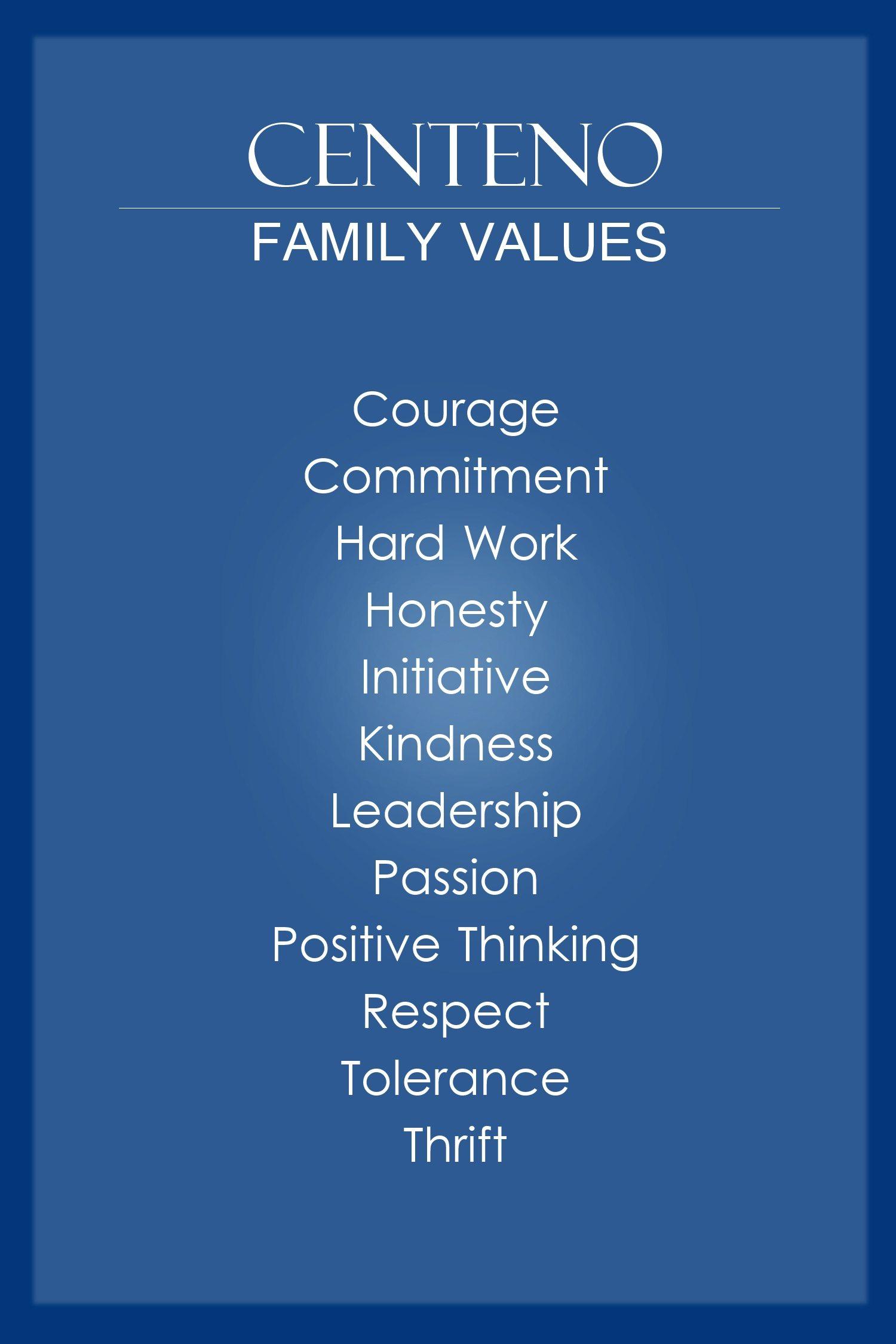 Antonio S 12 Family Values
