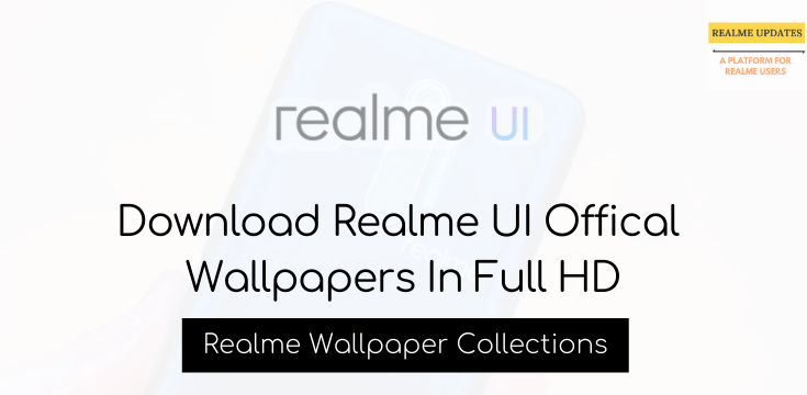 Download Realme UI Offical Wallpapers In Full HD - Realme Updates