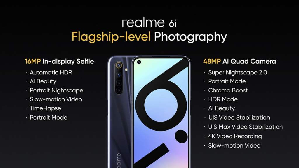 Finally, Realme 6i Launched In India: Specification, Features, Availability, Price in India & Much More - Realme Updates