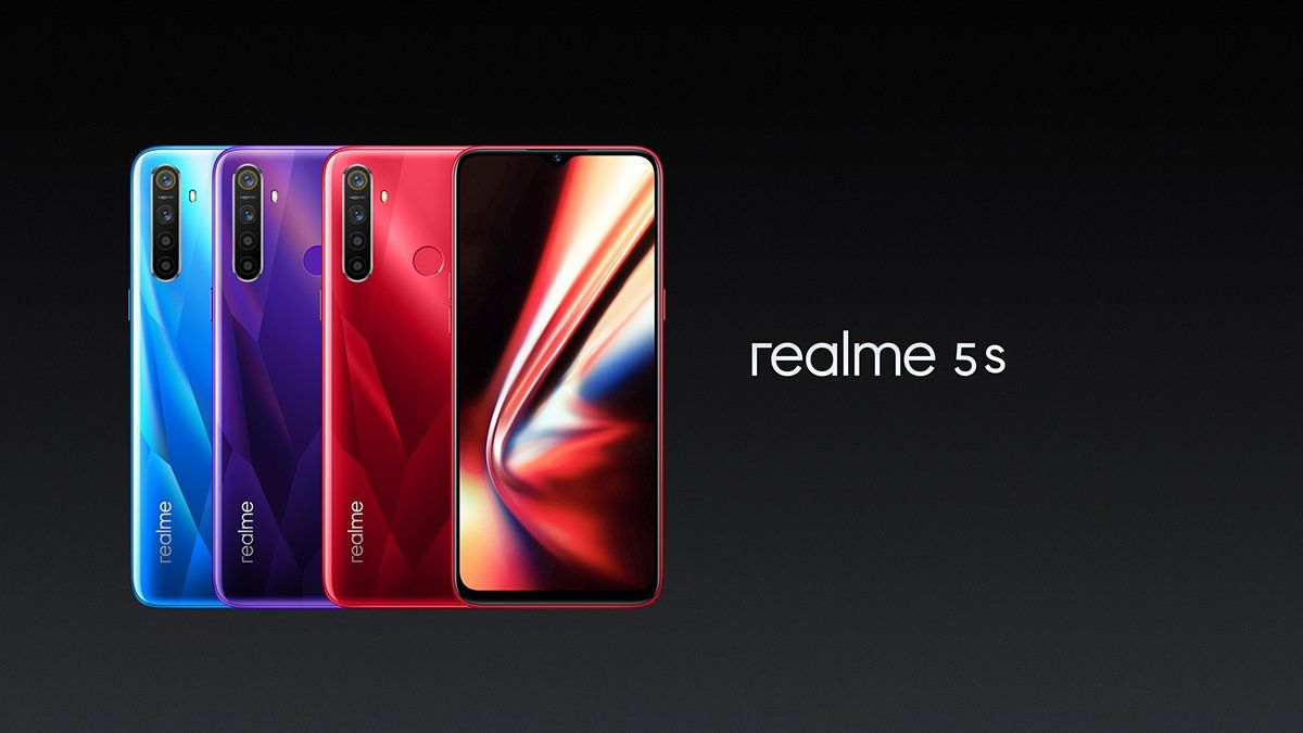 Realme 5s January 2021 Security Update Released