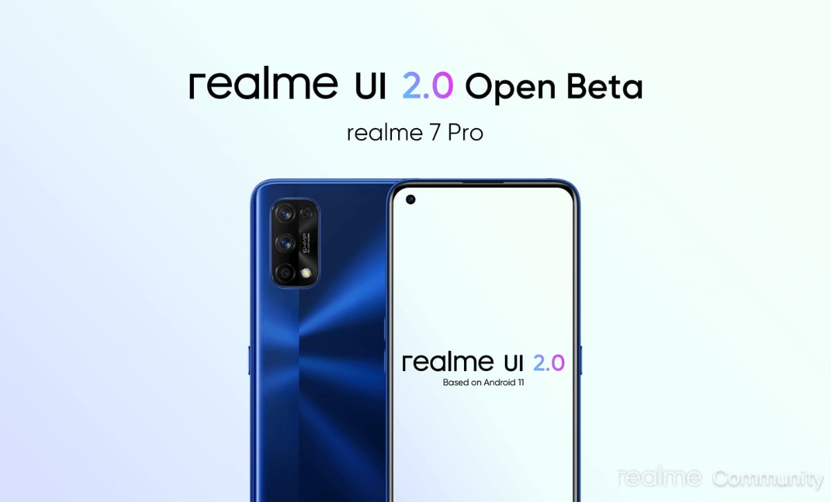 Breaking: Hurry Up! Realme 7 Pro Realme UI 2.0 Open Beta Update Application Announced In India