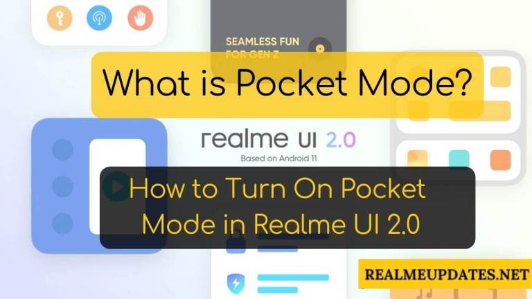 What is Pocket Mode_ How to Activate Pocket Mode in Realme UI 2.0 - RealmeUpdates.Net