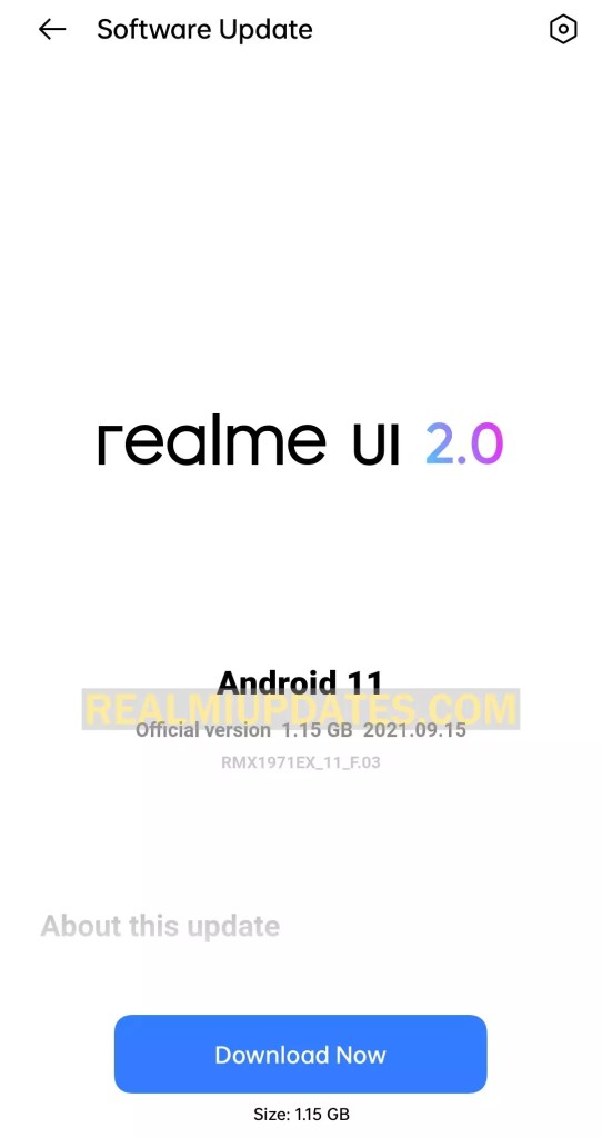 Realme 5 Pro Android 11 Realme UI 2.0 Stable Update Screenshot - Realmi Updates
