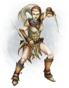 High Elf Martial Artist
