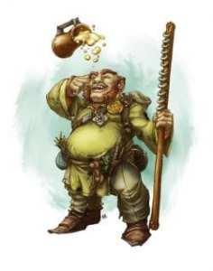 Dwarf Psionic Monk