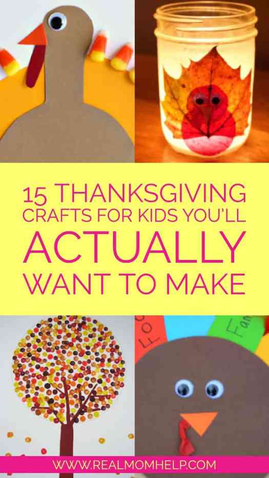 15 thanksgiving crafts for kids you ll actually want to make