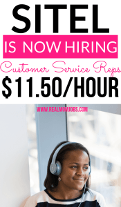 Work At Home Customer Service Jobs At Sitel Real Mom Jobs